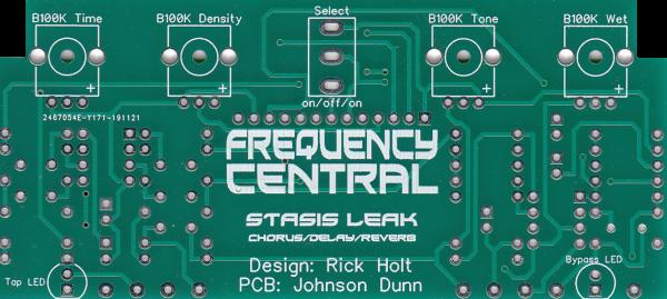 Stasis Leak Pedal PCB