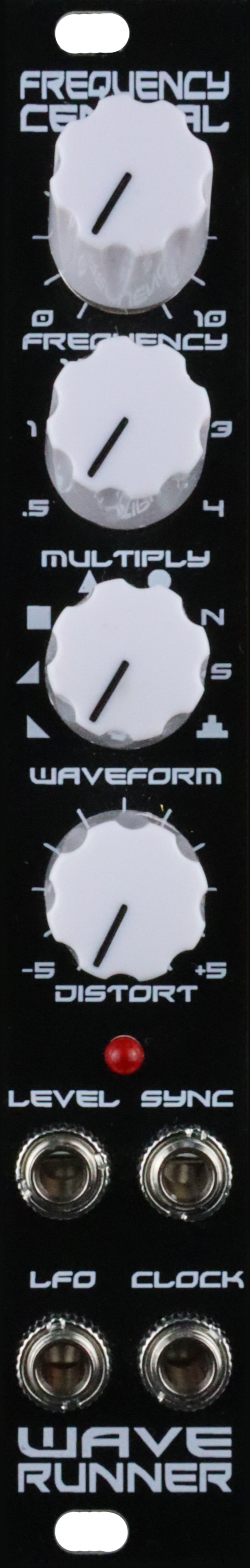 Assembled Frequency Central Wave Runner