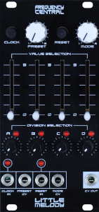 Assembled Frequency Central Little Melody