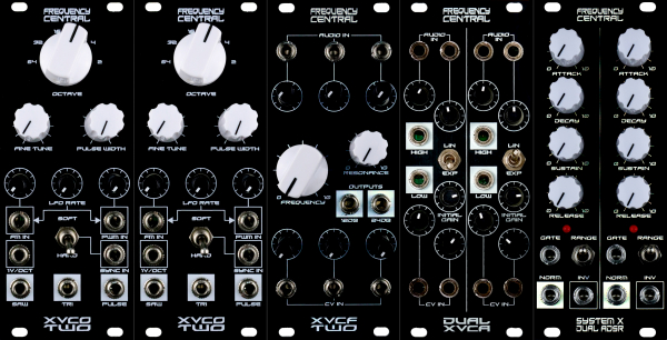 Fully Assembled Frequency Central Massive Modular Bundle
