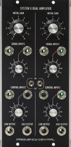 Assembled Frequency Central MU System X Dual Amplifer