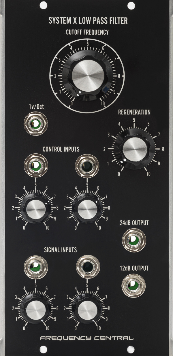 Assembled Frequency Central MU System X Low Pass Filter